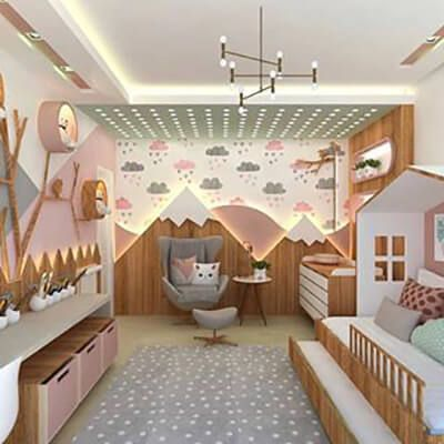 50 Great Suggestions for Baby Room Decoration | Architect at home