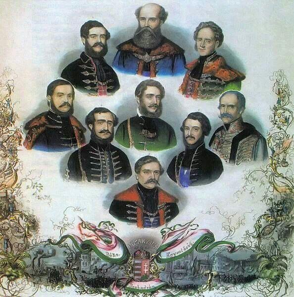 1848 az első felelős Magyar kormàny