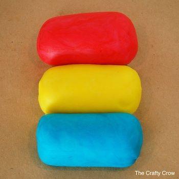 7 Crafty Crow домашние радуга рецепт пластилин