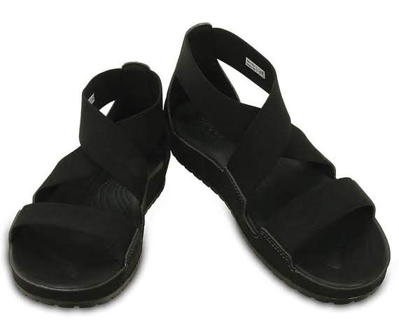 """One thing you'll love about these sandals are the stretchy upper straps — they adapt to your foot and always give you a feel-good fit. With casual good looks and our Croslite™ foam footbed for plenty of cushion, these are the """"comfort sandals"""" with a shot of style. Free shipping on qualifying orders."""