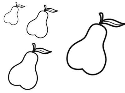 Le Livre de Sapienta: Fruits d'automne - composition TPS PS - découpage GS d'après Collage et Arts visuels chez Retz