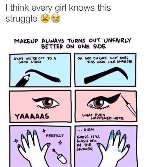 the struggle be real…