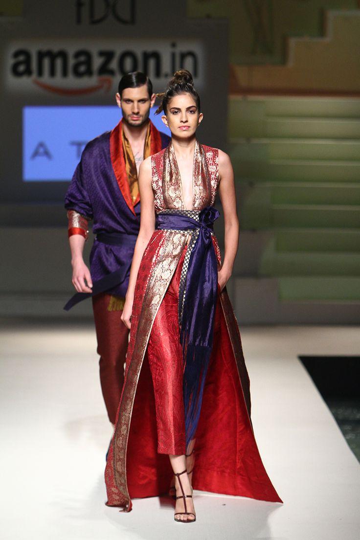 Atsu - India Fashion Ween S/S 2016 #indiafashion