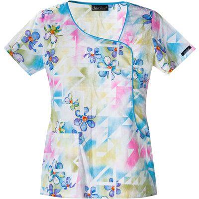 Free Scrub Shirt Pattern | Cherokee Womens Scrubs Top | meijer.com | Cherokee Las Scrubs Top