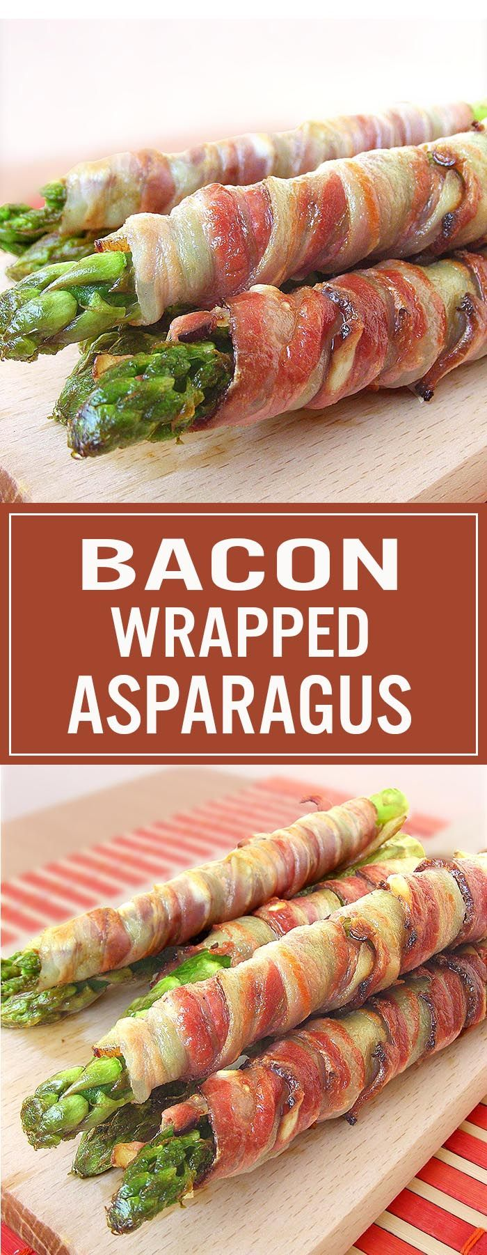 Bacon Wrapped Asparagus - so simple to make and so delicious!