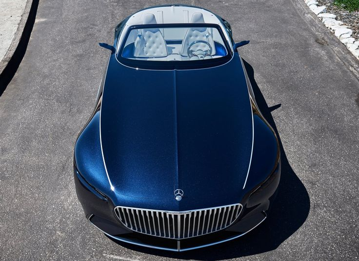 Mercedes Has Revealed Its New Art Deco Inspired Mercedes Maybach 6  Cabriolet Concept Car At The Pebble Beach Concours Du0027Elegance.