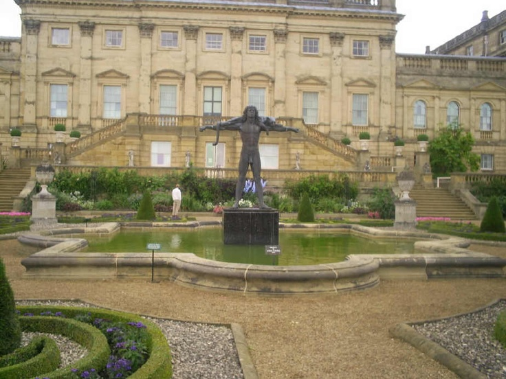1000 images about castles stately homes on pinterest for Harewood house garden design