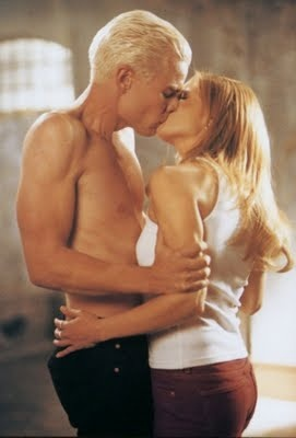 5.04- I know that this was just Spike's dream, but it was still HOT!