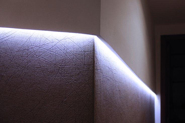 Detalle iluminación indirecta.