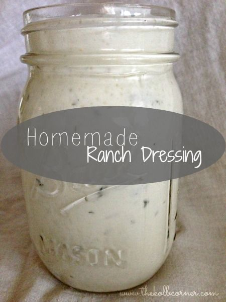 Homemade Ranch Dressing with Greek Yogurt. Part of the 30 Day Real Food Challenge. Cut out calories and add protein to your salad dressing by using Greek yogurt to make a thick and creamy dressing!