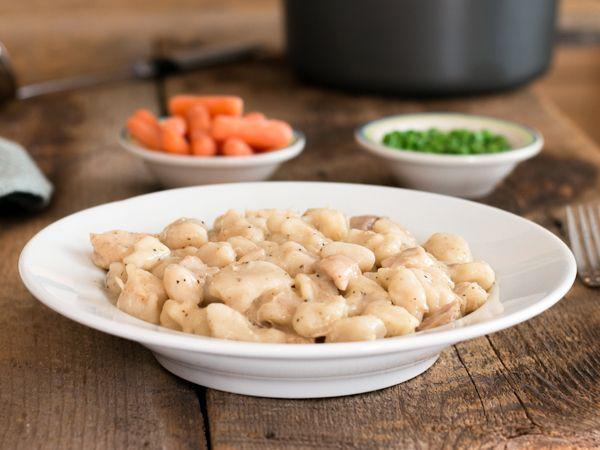 Top Secret Recipes | Cracker Barrel Chicken & Dumplins Copycat Recipe