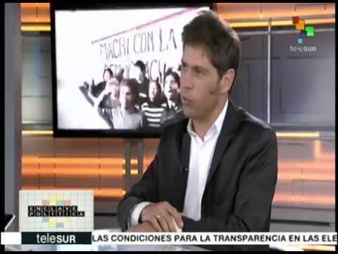 Axel Kicillof - Entrevista teleSUR