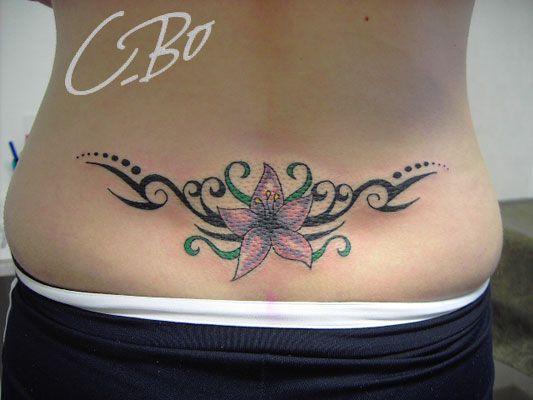 17 meilleures id es propos de tatouages bas ventre sur pinterest tatouages ventre tatouages - Tatouage tribal dos ...