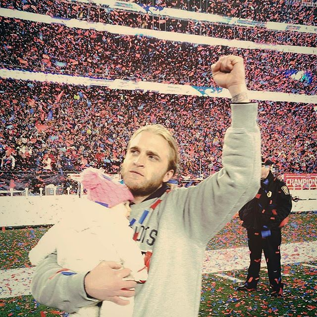 Steve Belichick and his daughter