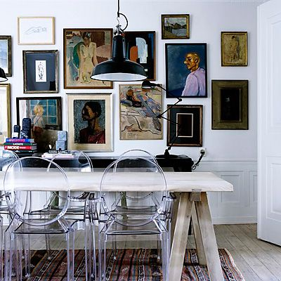 great (ghost) chairs + great wall...via roseland greene