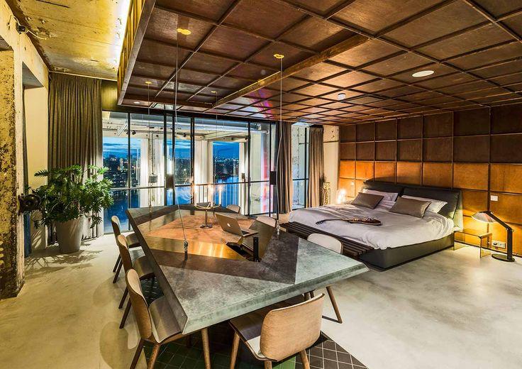 Una casa open space progetto dello studio olandese tank design residential 3 pinterest spaces and architecture