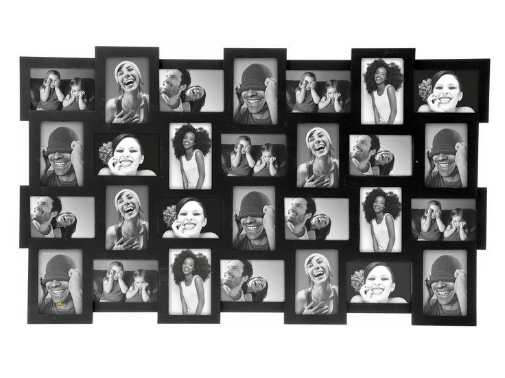 Fotolijst voor 28 foto's van 10x15cm.  (zwart).  € 99,95