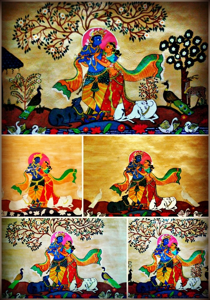 Radha Krishna Painting by Me!