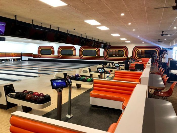 Bowlero Lanes And Lounge Is Michigan S Grooviest Retro Bowling Alley Bowling Alley Bowling Retro
