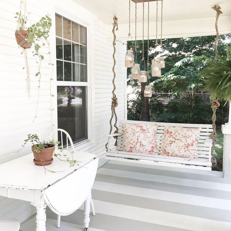 Front Porch Swings Farmhouse Exterior: 25+ Best Ideas About Farmhouse Porch Swings On Pinterest