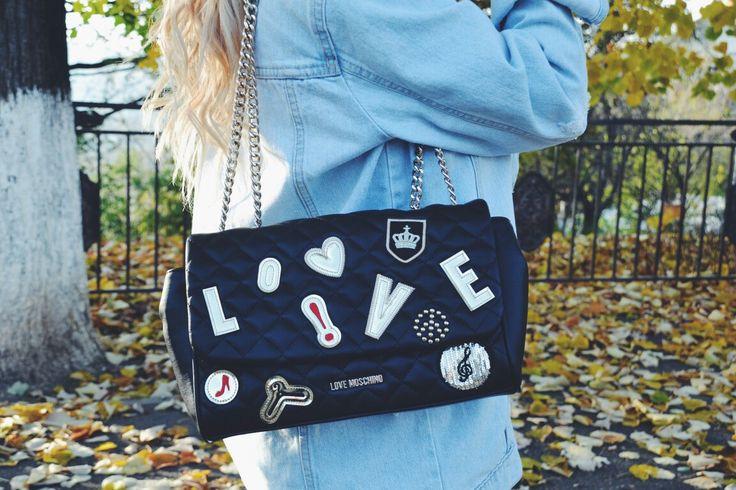 #lovemoschino #bag #trend #black
