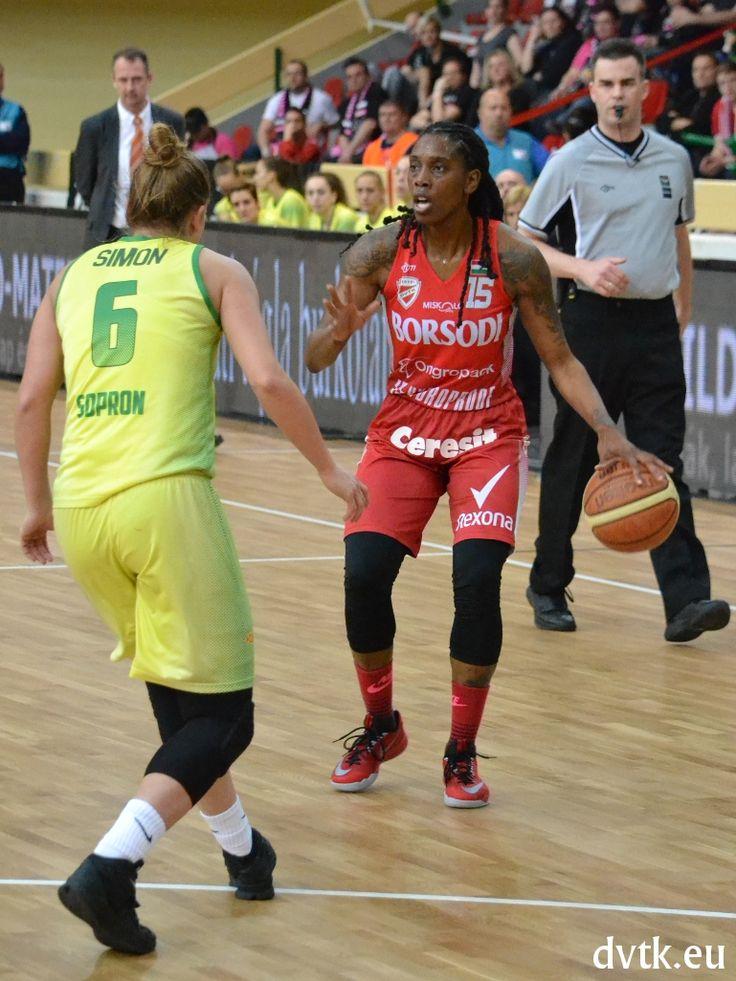 Rooneka Hodges (COOP Női Magyar Kupa döntő, Aluinvent DVTK - Sopron 69-60)