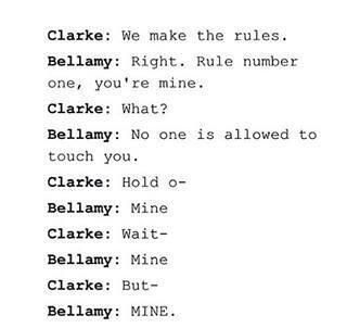 Bellarke <= I can totally picture this