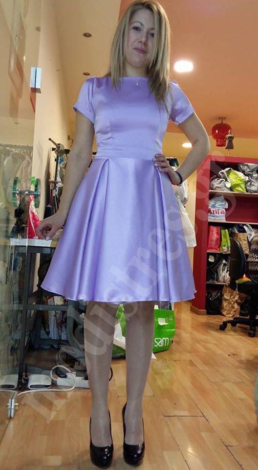 Φόρεμα σατέν. Δείτε πρισσότερα... http://bit.ly/1PZ1sdB