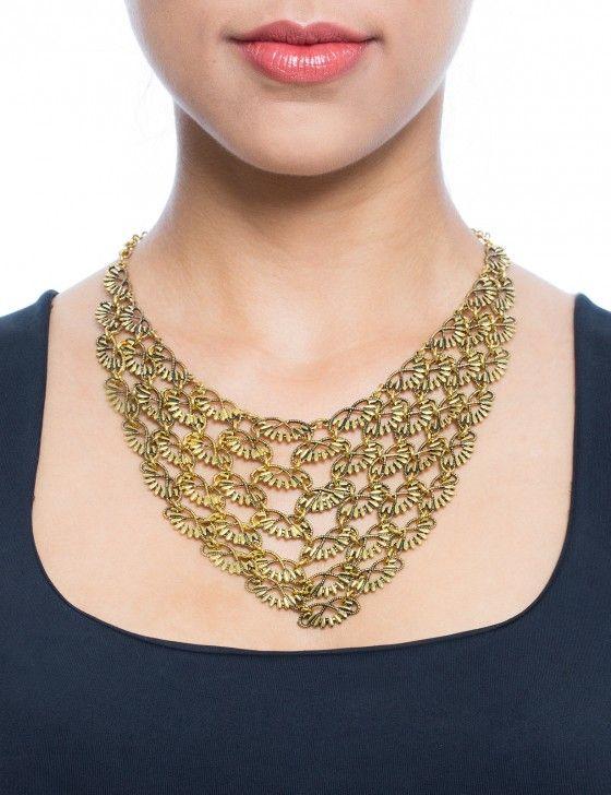Ornamentale Königskette, Gold  |  19,95 €  |  MACHIMA