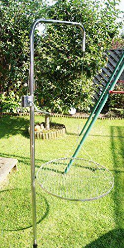 Edelstahl Grillgalgen mit 80 cm Edelstahl Grill