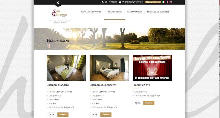 Développement de sites internet pro vente, favorisant la conversion en réservations directes