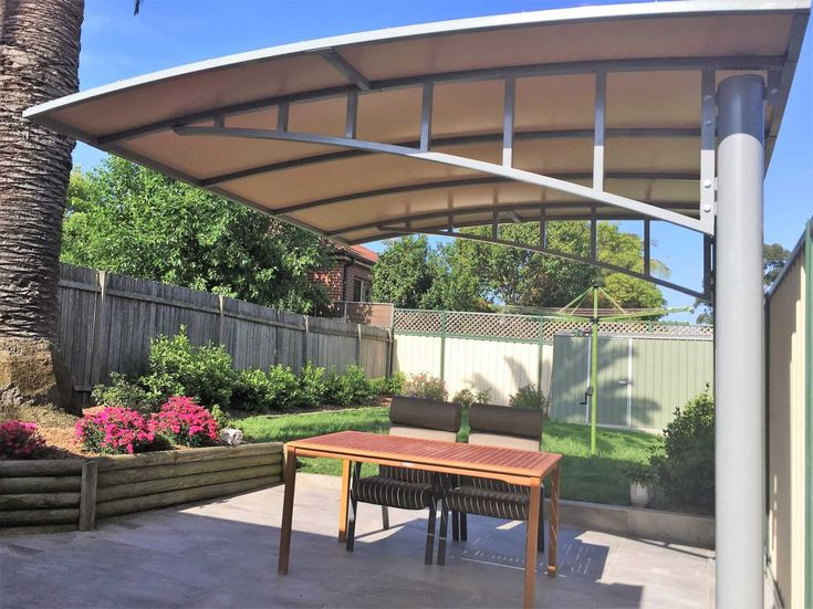 Deck shade structures bolt with hole through center