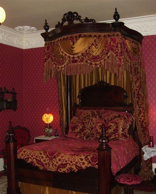 Victorian Era Bedroom Decor Master Bedroom Color Schemes Bedroom Curtains Long Or Short Curtains Teenage Girls Bedroom: 88 Best Antique Bedrooms Images On Pinterest