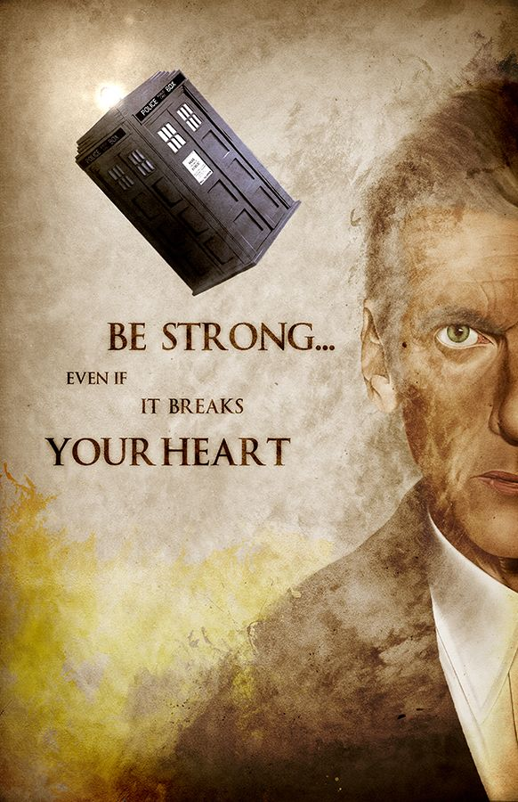 #DoctorWho's Peter #Capaldi with one of my favorite quotes. Limited print, available now on my Etsy store!