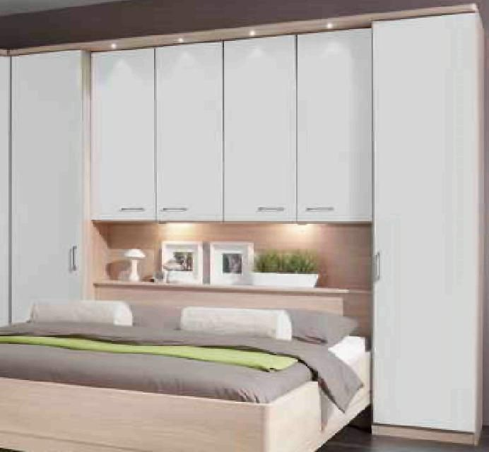 Love This Bed Wardrobes/ Storage Idea, May Do Mirror Door Or The Other  Colour So It Wonu0027t Look So Boring