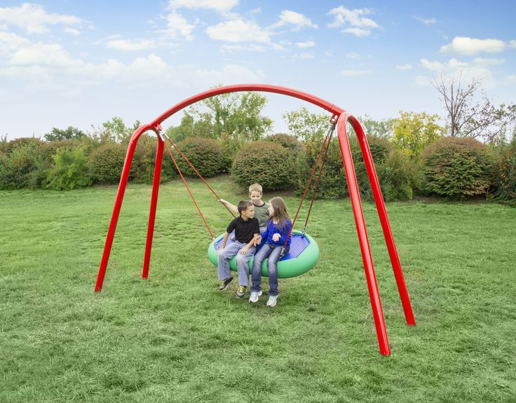 29 best commercial swings images on pinterest swing sets for Unique swings for kids