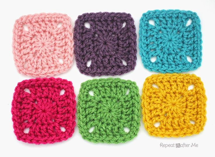 Pixel Crochet Squares