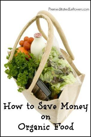 10 Ways to save money on organic food #saving #money #organic