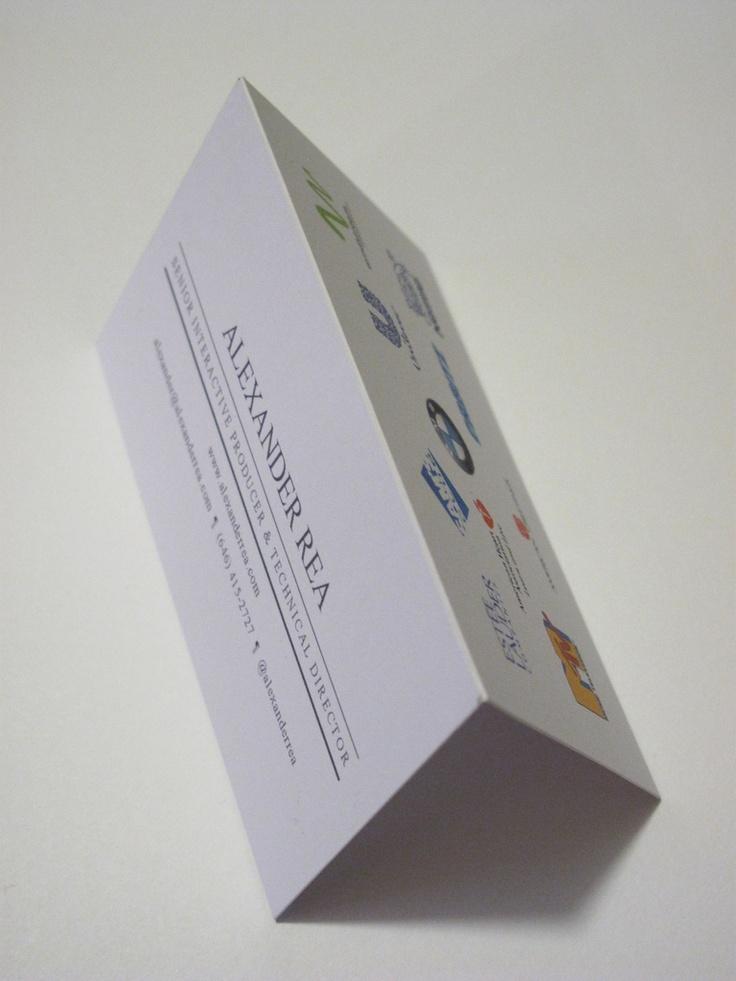 Folded mini resume 22 best Resume Designs