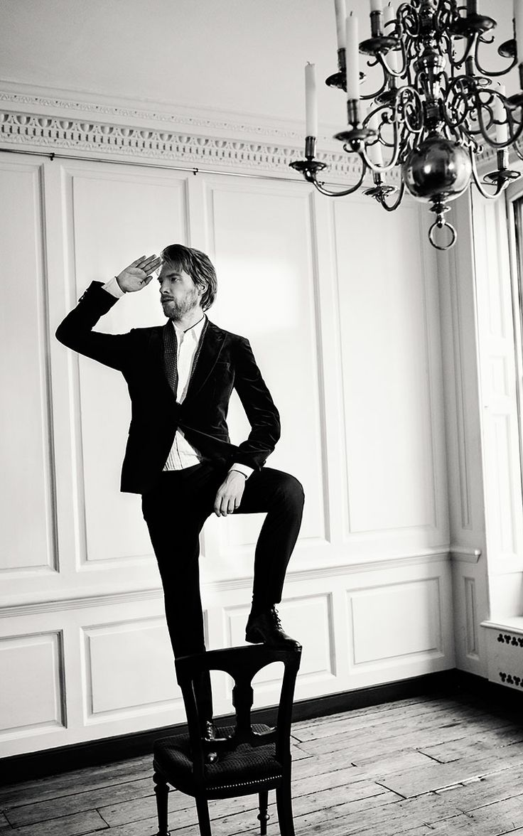 Domhnall Gleeson, Esquire UK: TOMO BREJC PHOTOGRAPHER & DIRECTOR