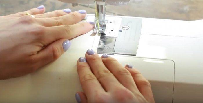 Couture: apprendre à faire un ourlet à la machine