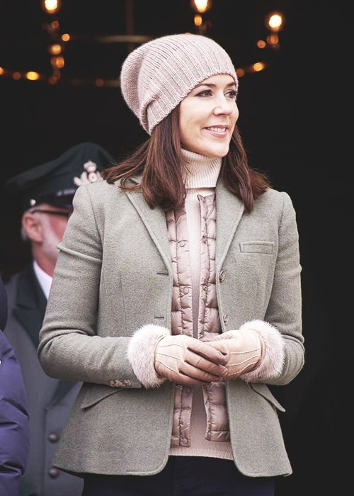 gabriellademonaco:  Crown Princess Mary, November 1, 2015