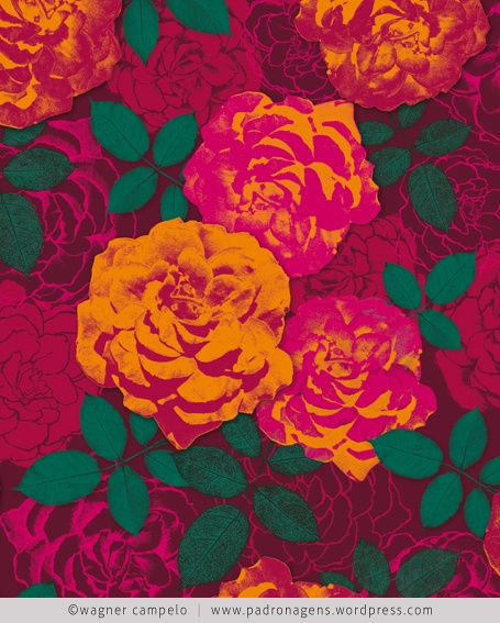 mar de rosas | bed of roses (intense) | wagner campelo