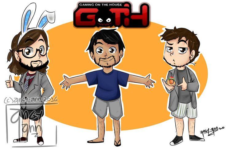 Edgar, Nicolás y Jaime [Jaidefinichon GOTH]   by Angy-Ann