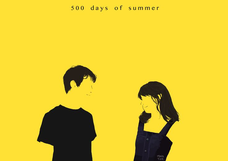 500 days of summer #movie #illustration
