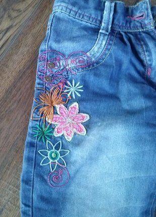 Kup mój przedmiot na #vintedpl http://www.vinted.pl/odziez-dziecieca/spodnie/18173143-spodnie-jeansowe-dla-dziewczynki-w-stylu-sindbada