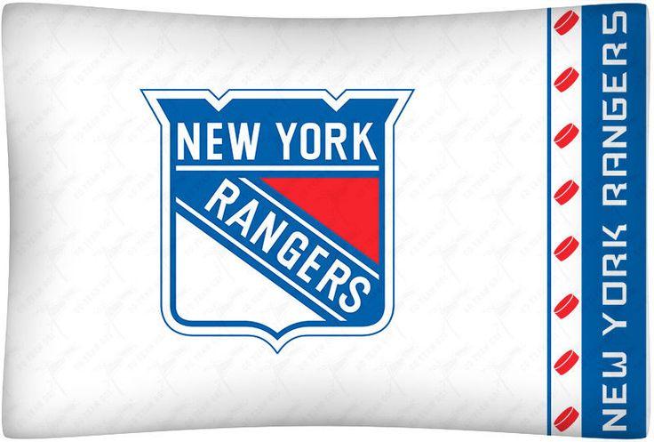 New York Rangers NHL Microfiber Standard Pillowcase #SportsCoverage