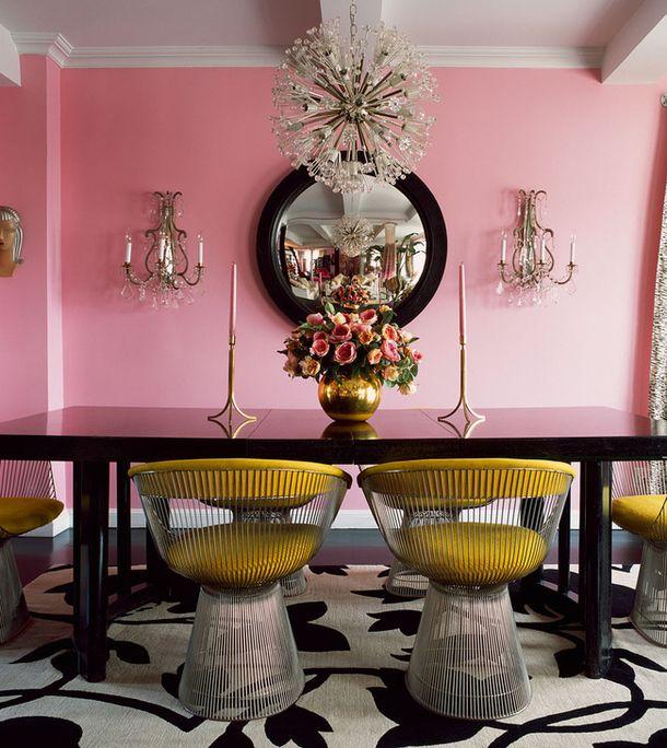 Дом в Нью-Йорке, декоратор Бетси Джонсон