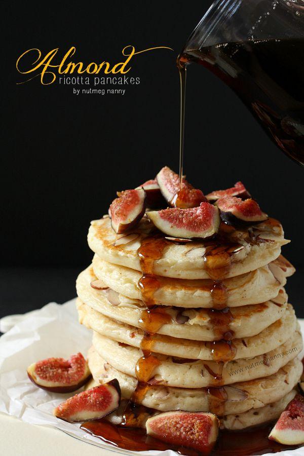 Almond Ricotta Pancakes