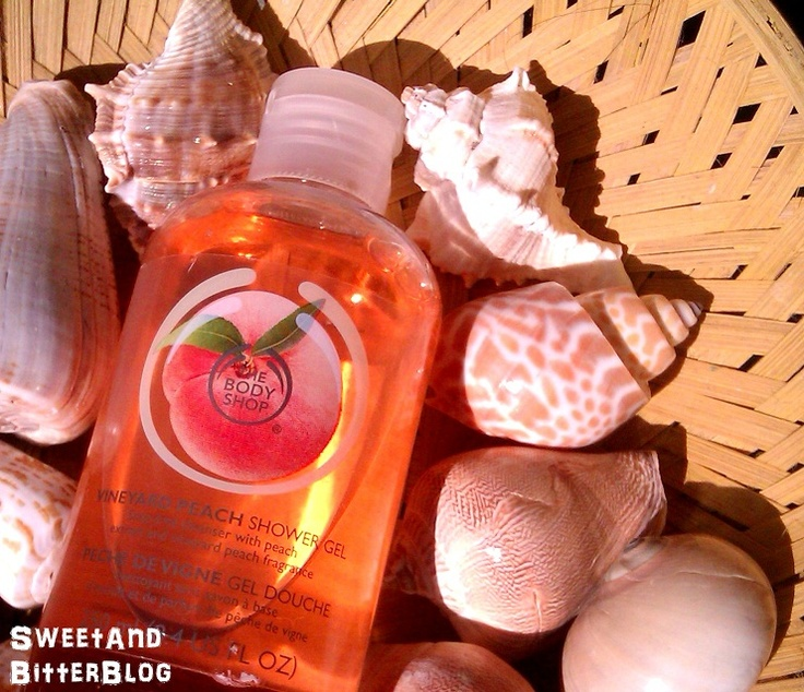 Sweet and Bitter: The Body Shop Limited Edition Vineyard Peach Shower Gel Review
